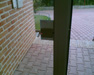 realizace: bytovy dum. COP v bezkontaktním provedení pro instalaci na sklo. Zadní strana